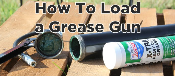How to Load Grease Gun?